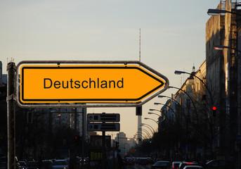 Strassenschild 37 - Deutschland