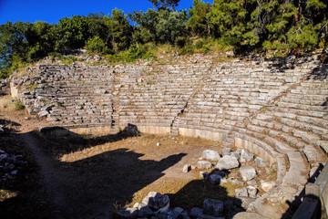 Roman amphitheater in Perges, Turkey