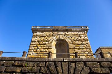 Toscana,Firenze,particolare di Palazzo Pitti.