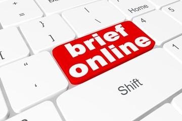 """Button """"brief online"""" on keyboard"""