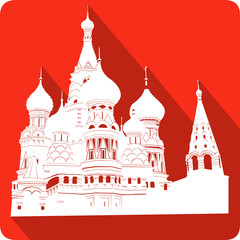 a symbol of Russia, vector illustration