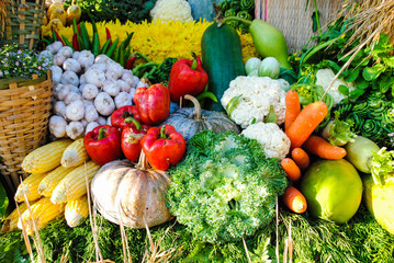 Vegetables and fruits are nutritious..