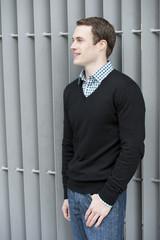 Male Model Looking Left