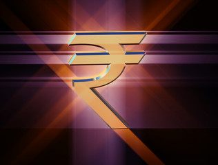 symbol currency of the Indian rupee