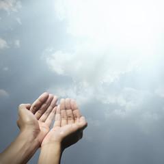 Hand Of Muslim People Praying