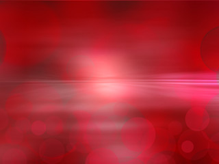 Elegant abstract red  background with bokeh lights