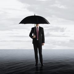 Survive Business Crisis Concept