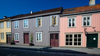 City of Trondheim in Norway