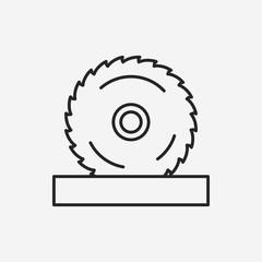 Circular Saw line icon