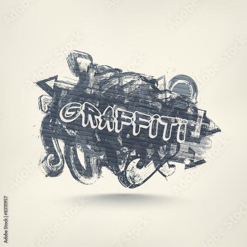 In de dag Graffiti Graffiti Art