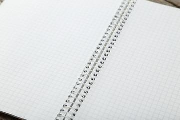Open clear notebook