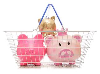 saving money shopping