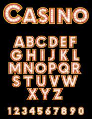 Retro Casino Font
