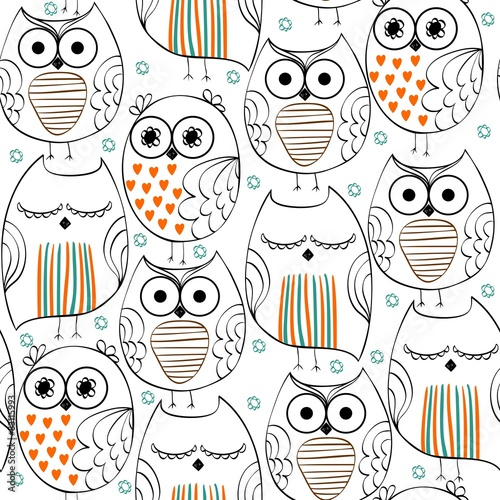 Seamless pattern © Tapilipa