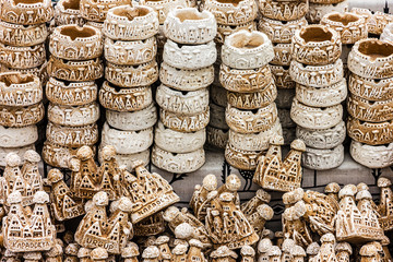 Ashtrays souvenirs for tourists, Turkey