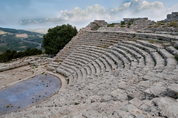 Segesta, anfiteatro greco 1