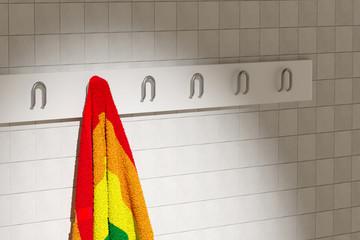 gay towel