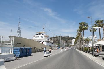 Puerto de Malaga. Andalucia, Spain