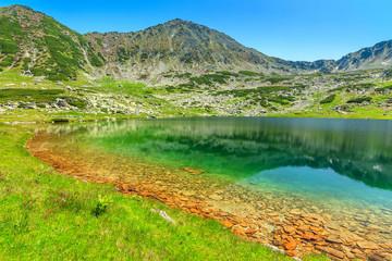 Emerald glacier lake,Retezat mountains,Transylvania,Romania