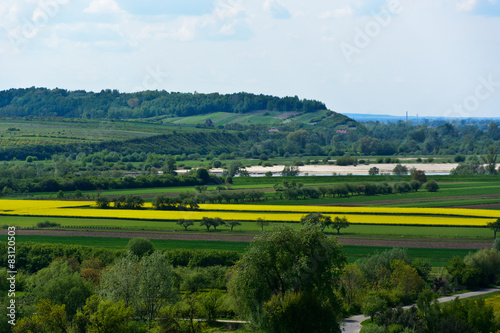 Panel Szklany Vistula river valley