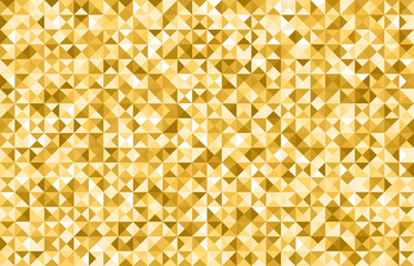 Golden triangle background