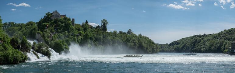 Rheinfall Panorama Seitlich