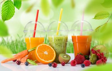 Fresh juice mix fruit