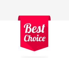 Best Choice Long Shadow Ribbon