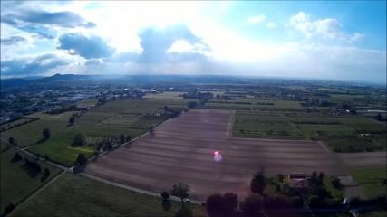 Vista panoramica pianura
