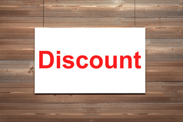 white canvas on wooden wall discount