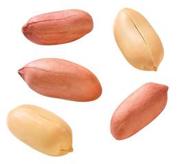 Erdnüsse mit und ohne Schale