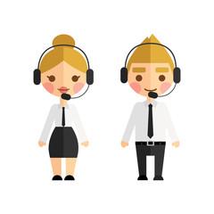 Call center operators.
