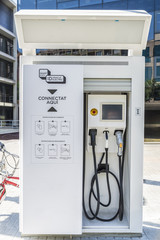 Filling station for electric cars