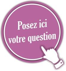 bouton posez ici votre question