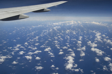 Himmel Wolken Flug