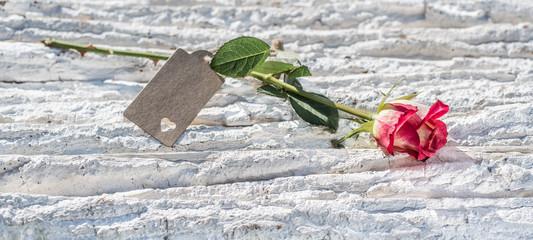Rose mit Anhänger