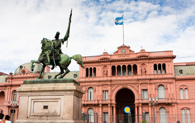 La Casa Rosada, Buenos Aires - Argentina