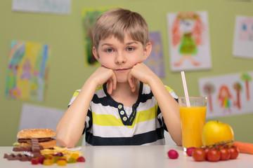 Fast food or healthy food