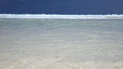 Beautiful tropical beach view