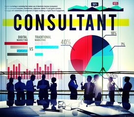 Consultant Advise Information Leadership Strategy Concept