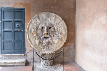 La Bocca della Verità (English: the Mouth of Truth)