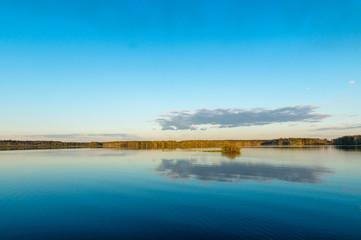 Рефтинское водохранилище, Урал, Россия