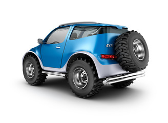 Offroad car concept. My own design.