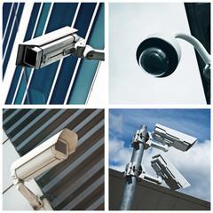 composition caméras de surveillance