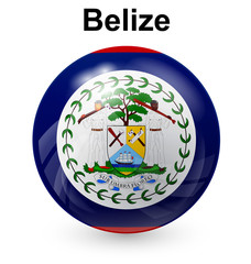 belize ball flag