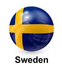 sweden state flag