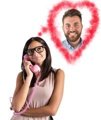 Girl talking with her boyfriend