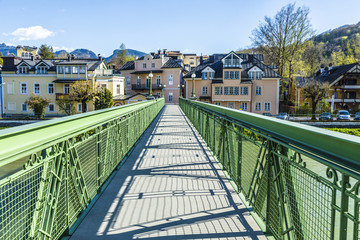 old bridge at Traun river - Bad Ischl