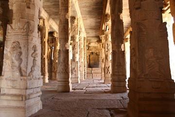 Temple Hampi Karnataka India