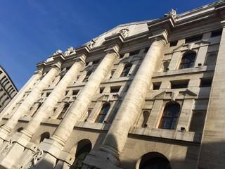 Milano, Palazzo della Borsa - Piazza Affari